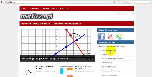 Szablon matfiz24.pl 2012/2013
