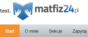 menu aktywne na stronie internetowej