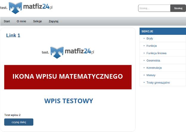 wyjściowy szablon WordPress widoczny pod przeglądarką
