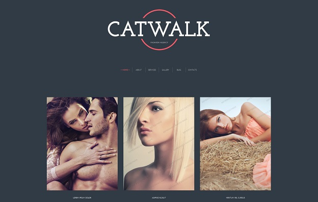 motyw wordpress catwalk