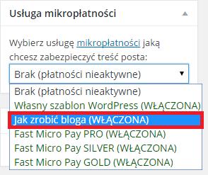 usługa płatności online