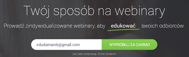 darmowa rejestracja na webinar clickmeeting