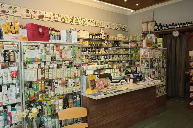 stacjonarny sklep zielarski dębica