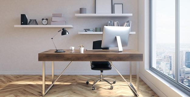 jak urządzić biuro w minimalistycznym stylu