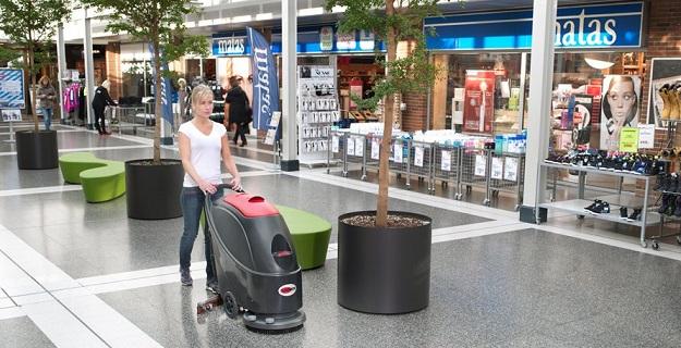 maszyna czyszcząca podłogi