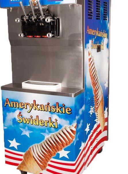 maszyna lody świderki