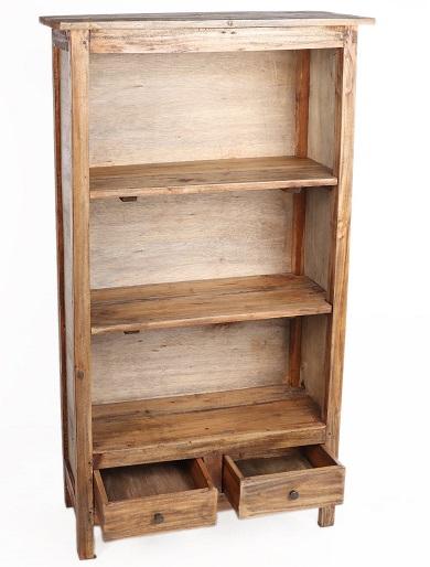 regał rustykalny drewniany